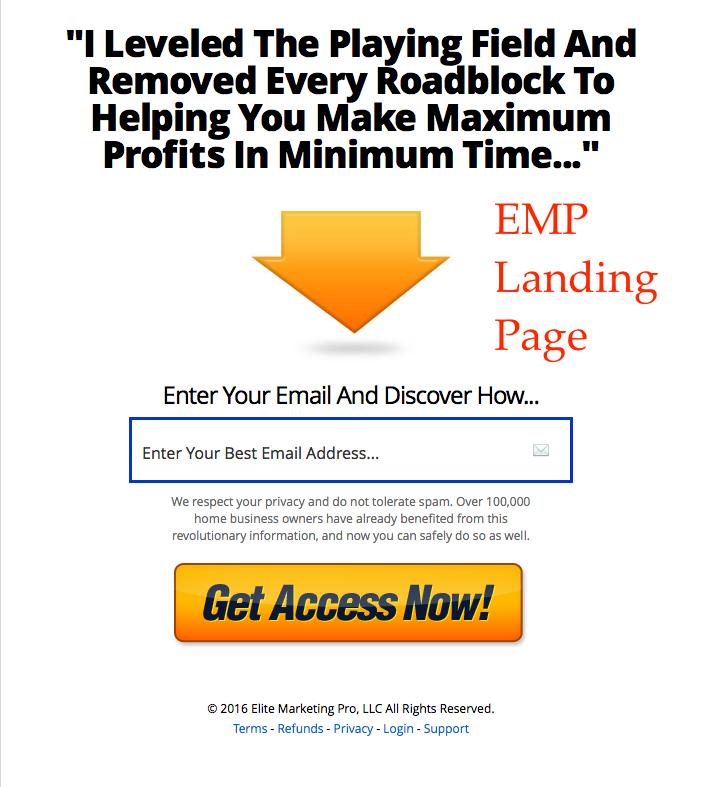 EMP Landing Page