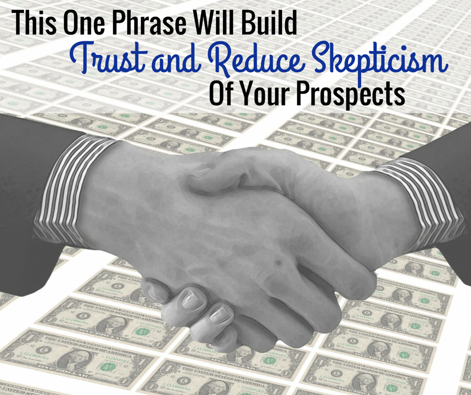 MLM Recruiting Tips:  The One Phrase That Changes Everything