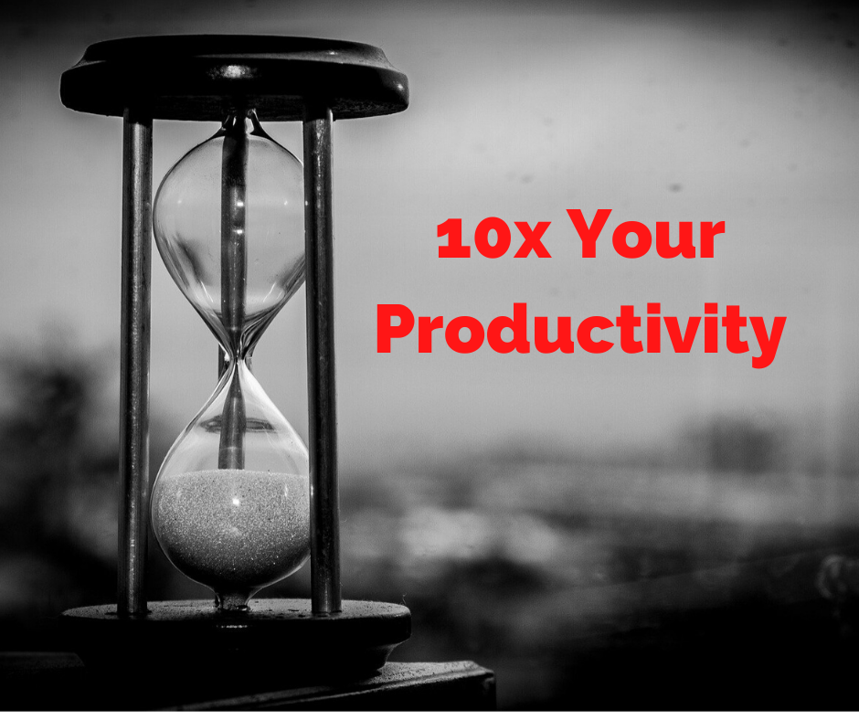 3 Ninja Tactics To 10x Your Productivity When Building Your Side Business