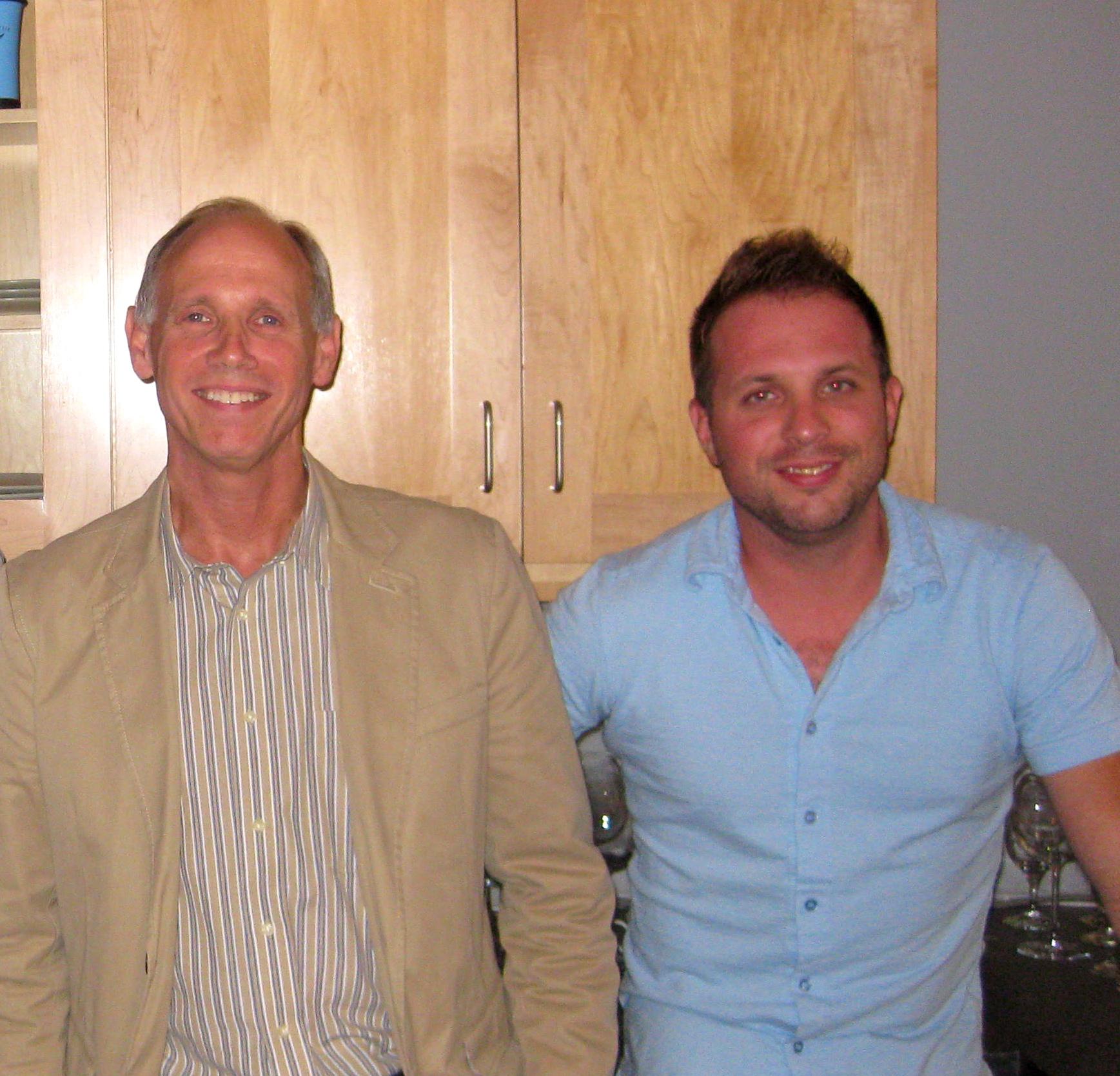 Aaron Parkinson and Bob Clarke