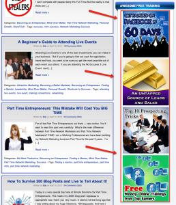 blog training banners