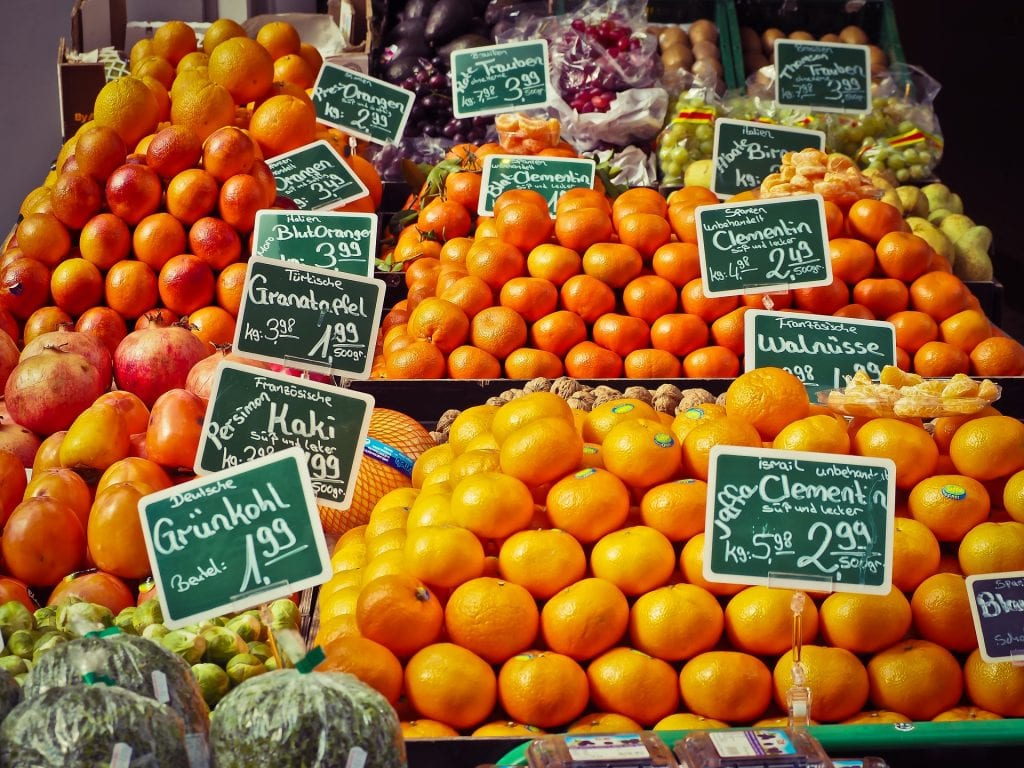 fruit sale