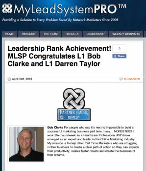 How To Get Recognized By Top Leaders