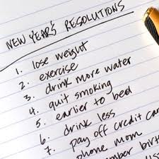 new years resolutions image